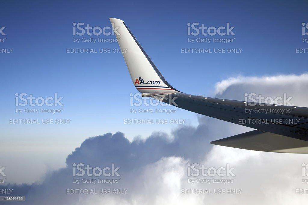 American Airlines avião - foto de acervo