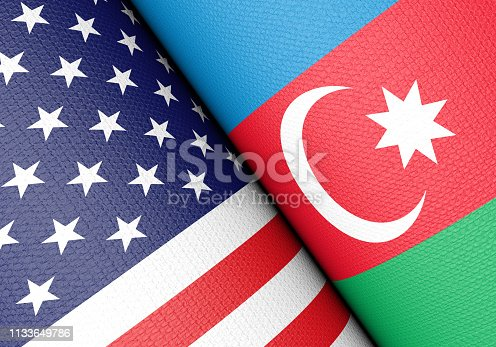istock American And Azerbaijan Flag Pair 1133649786
