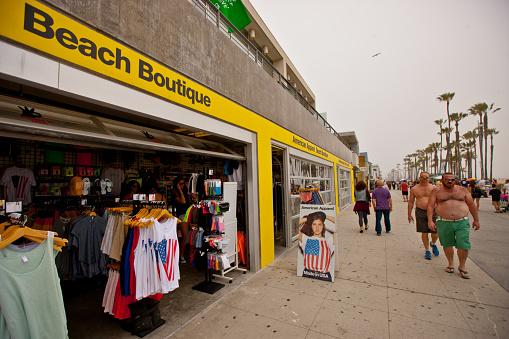 istock American Apparel Beach Wear Store, Venice, CA 471554629