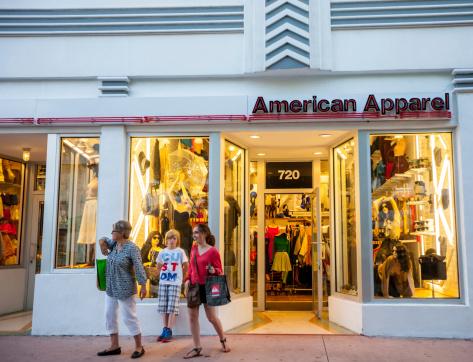 istock American Apparel Store Entrance, Miami Beach 459016391