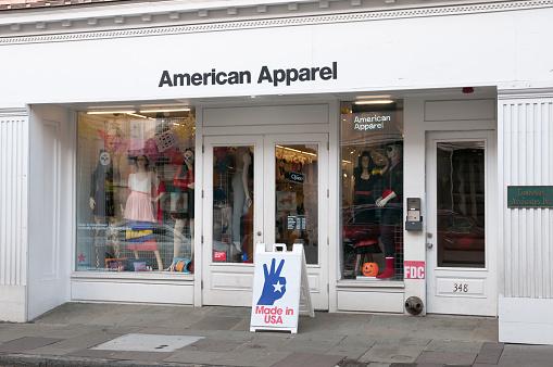 istock American Apparel store in Charleston, South Carolina, USA 171300639