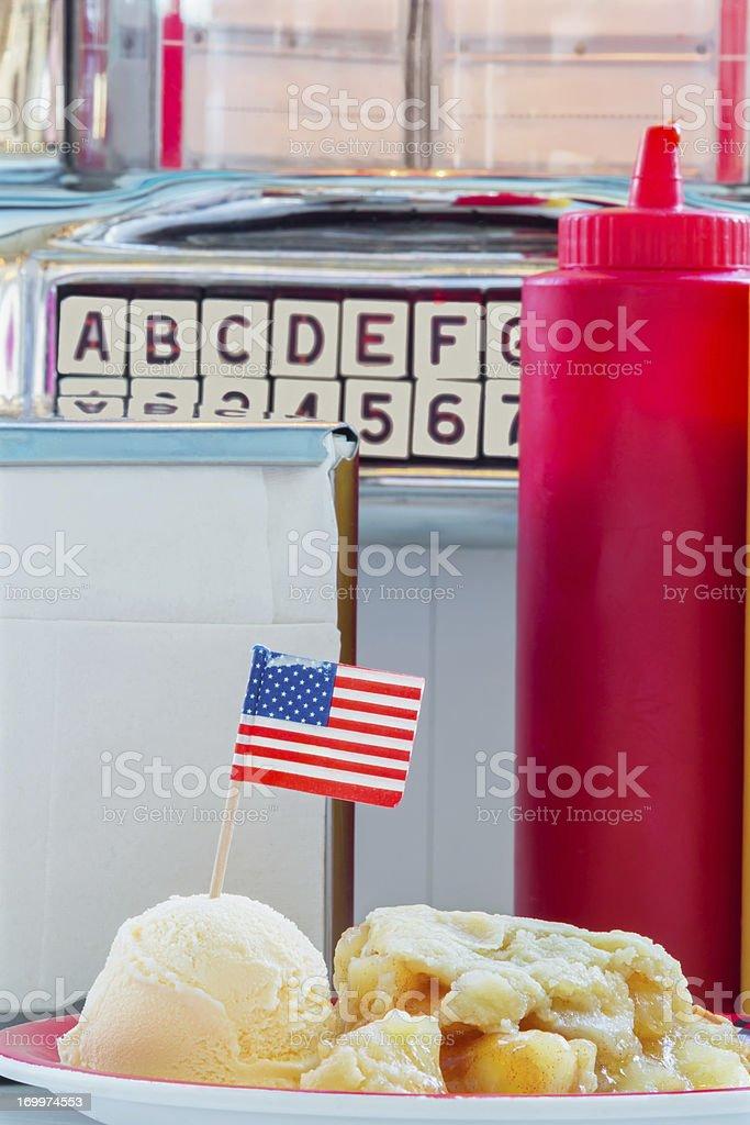 American Apple Pie royalty-free stock photo