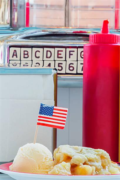 American Apple Pie stock photo