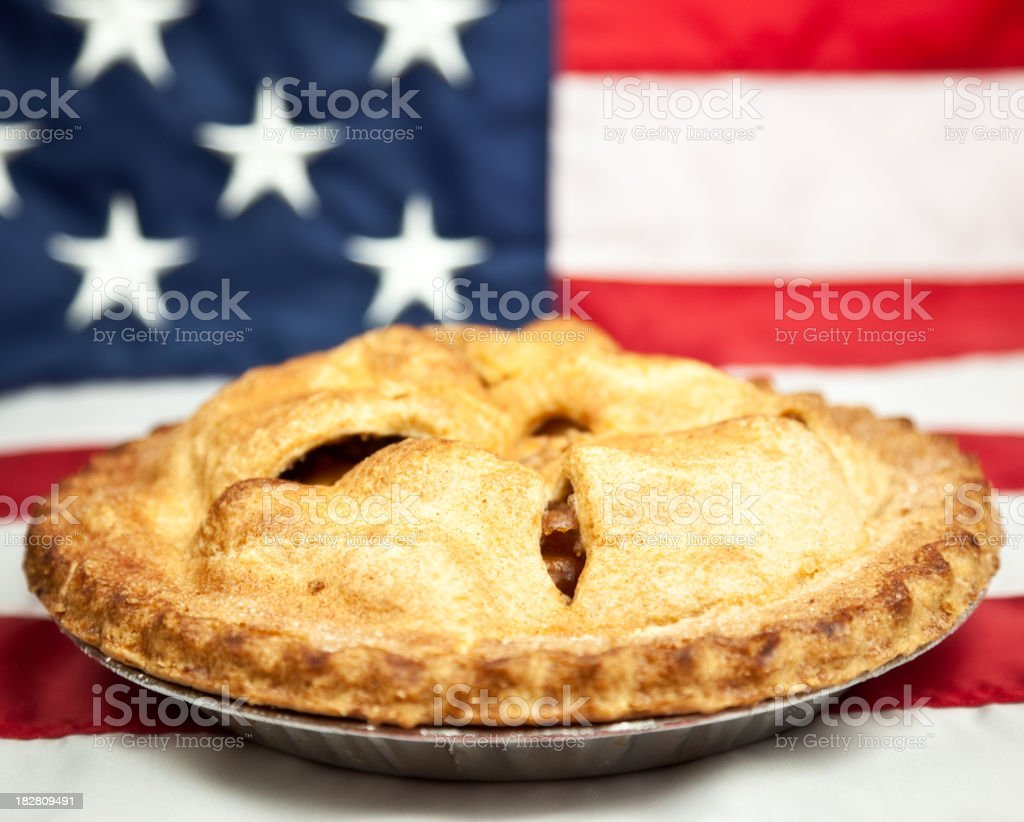 American Apple Pie stock photo