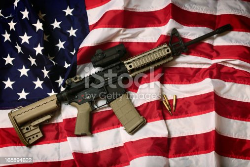 istock American AR-15 165894622