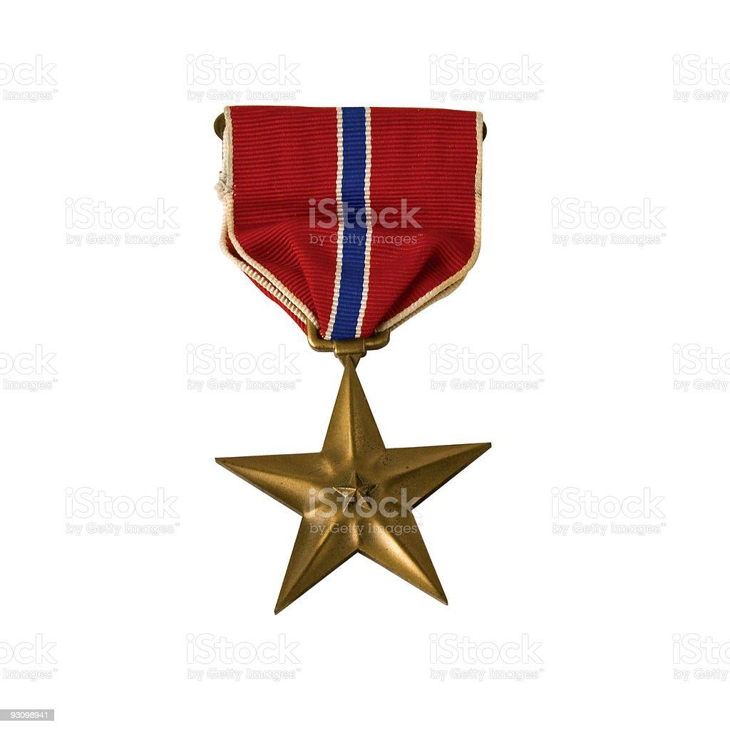 American Army Bronze star stock photo
