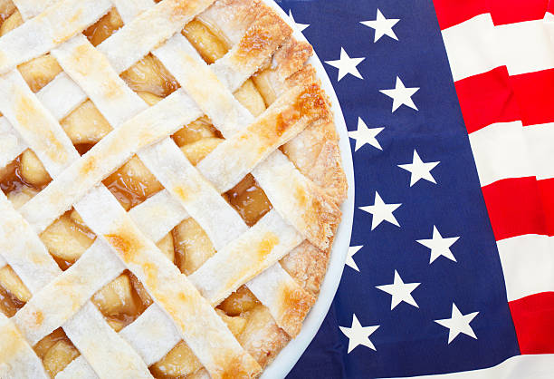 American as Apple Pie stock photo