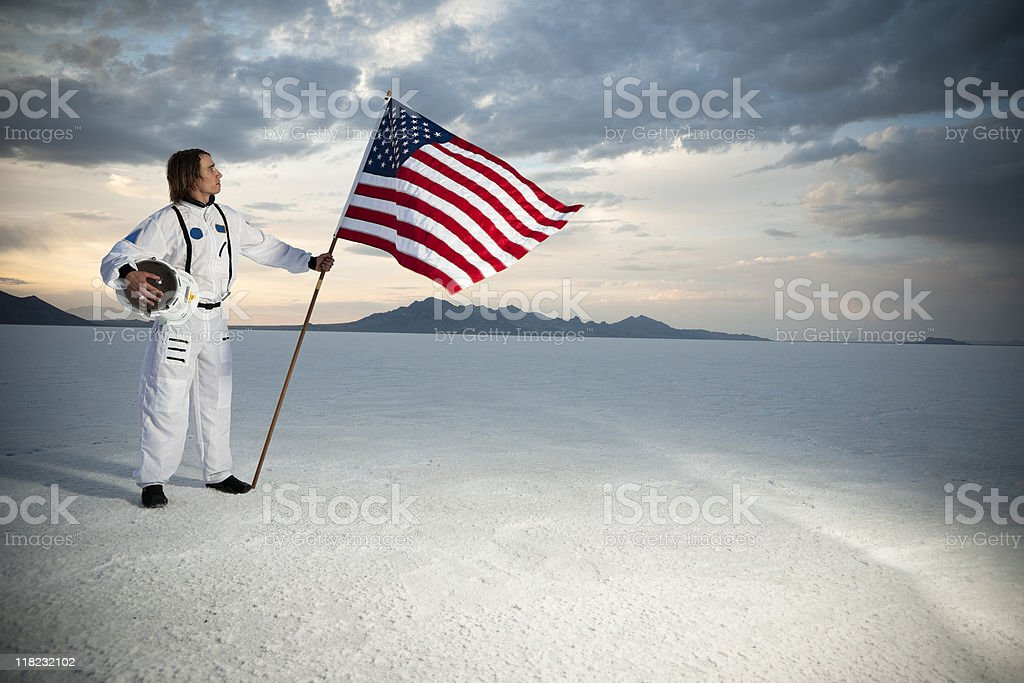 American Astronaut stock photo