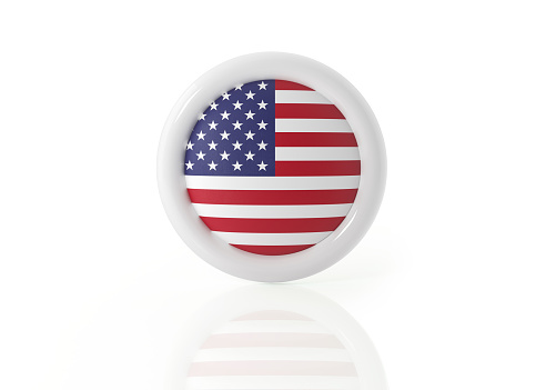 istock American Badge On White Background 901214878