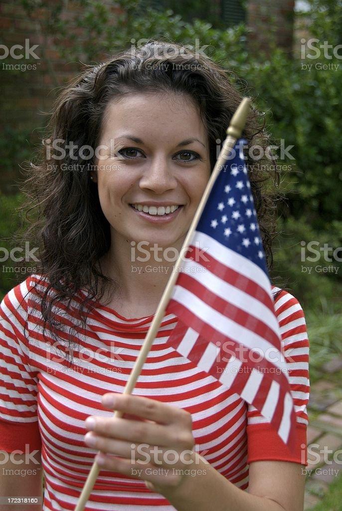 American Beauty royalty-free stock photo