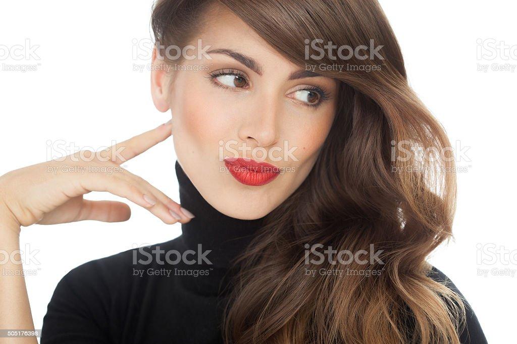 American Beauty Portrait stock photo