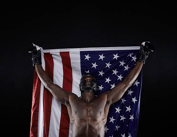 Campeonato americano de boxeo - foto de stock