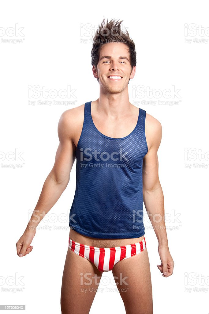 American Boy stock photo