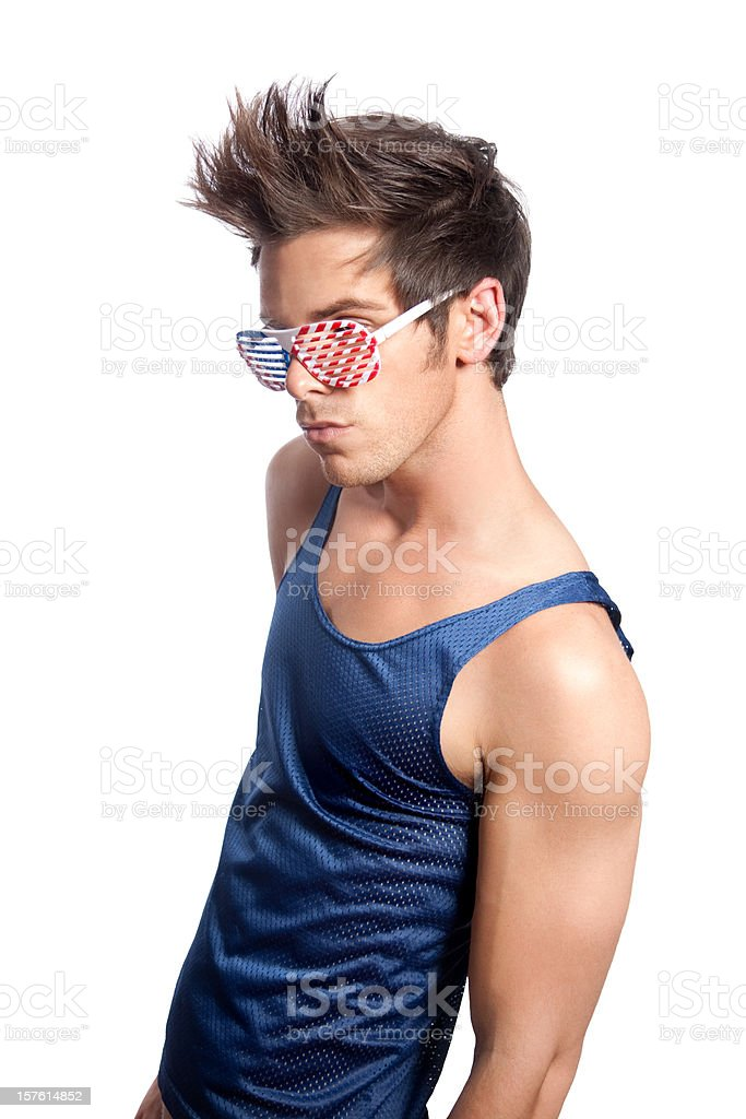 American Boy stock photo
