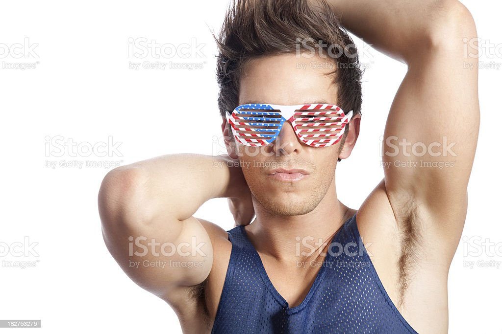 American Boy royalty-free stock photo