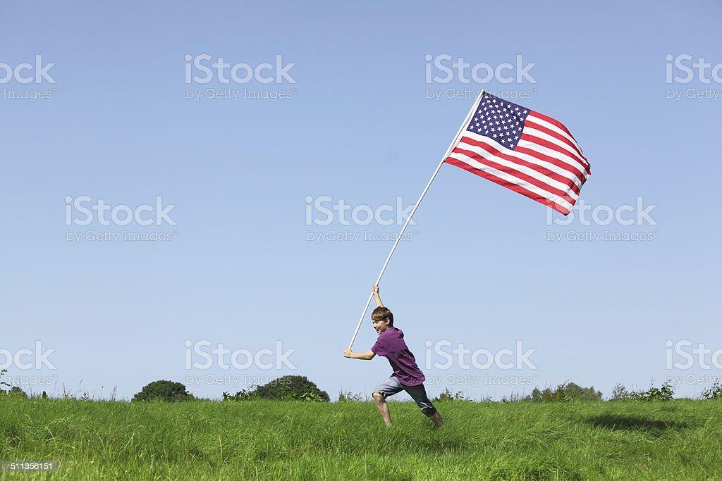 American boy - foto de stock