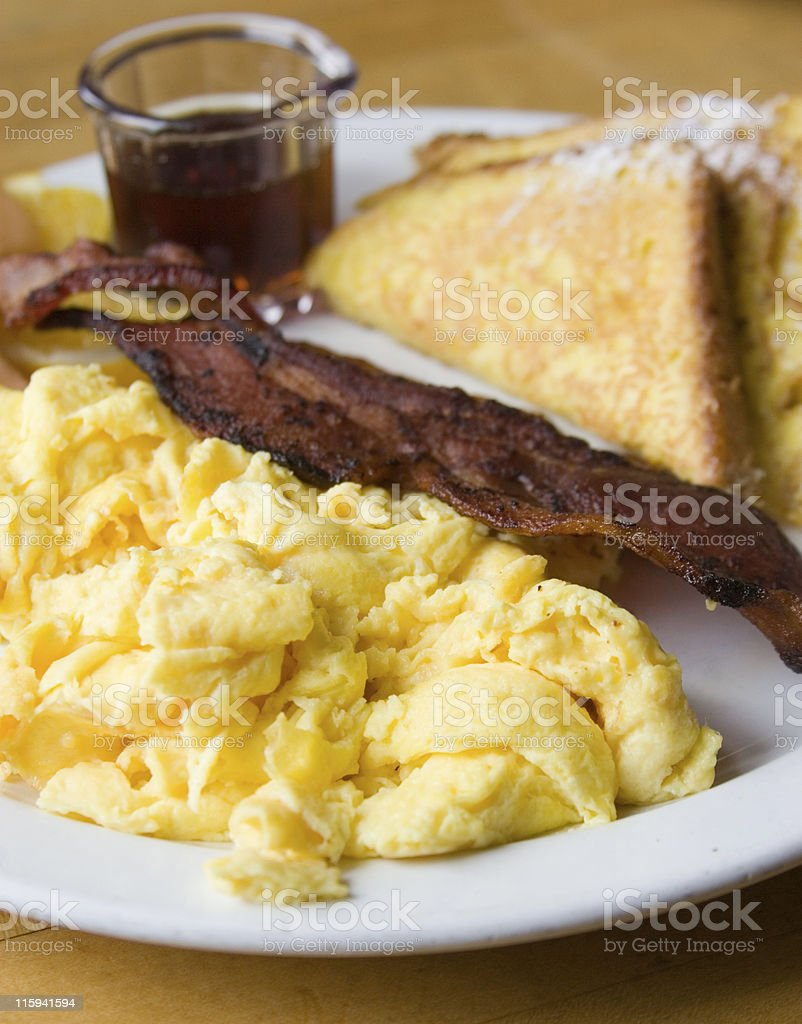 American Breakfast royalty-free stock photo