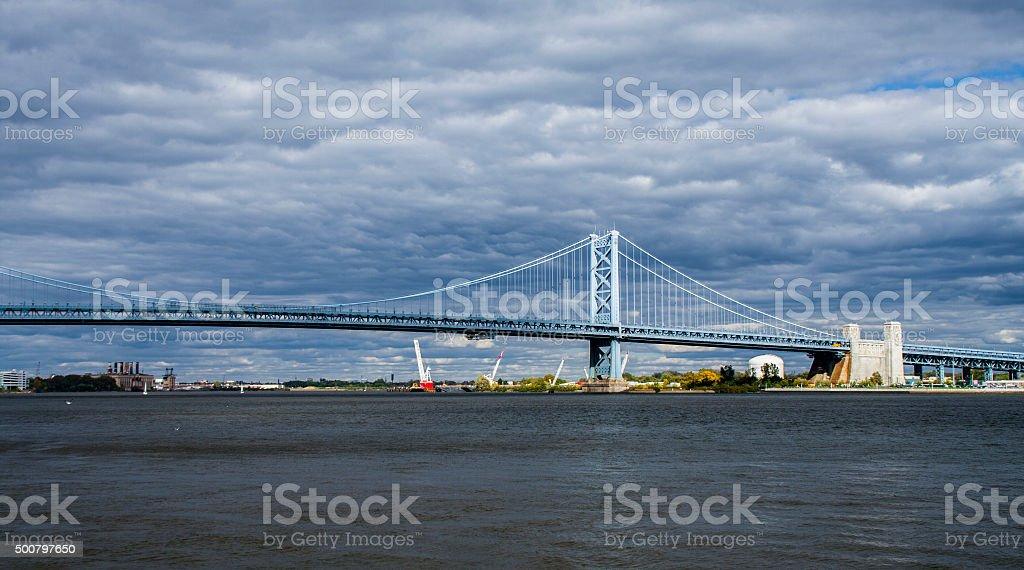 american bridge stock photo