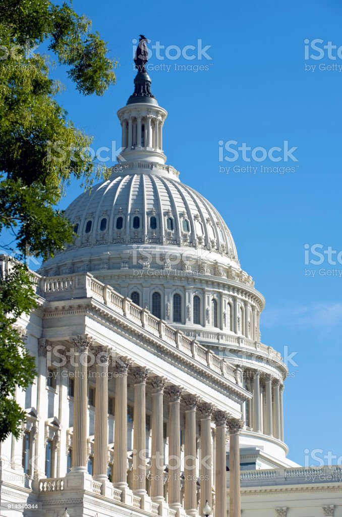 American Capital Building. stock photo