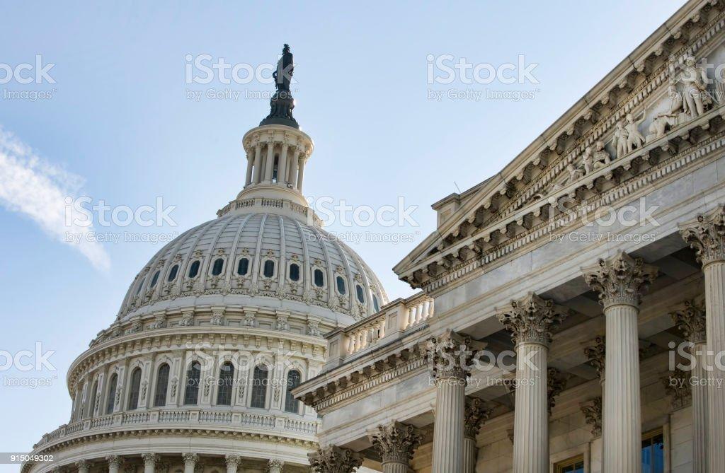 American edificio del Capitolio. - foto de stock