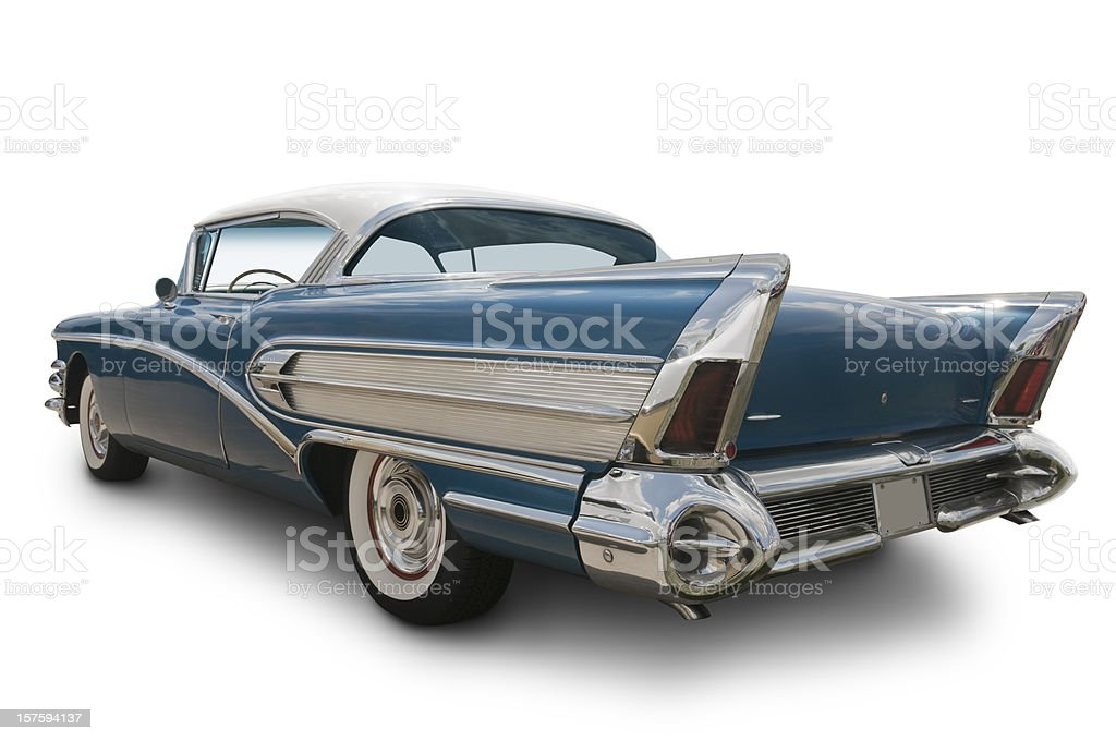 American Car of the 1950's royalty-free stock photo