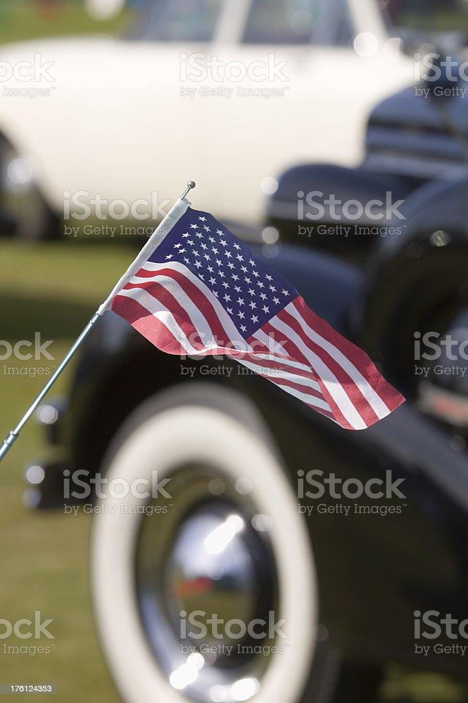 American Car Show stock photo