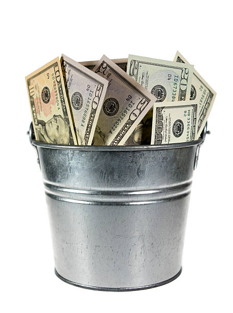 Image result for money bucket