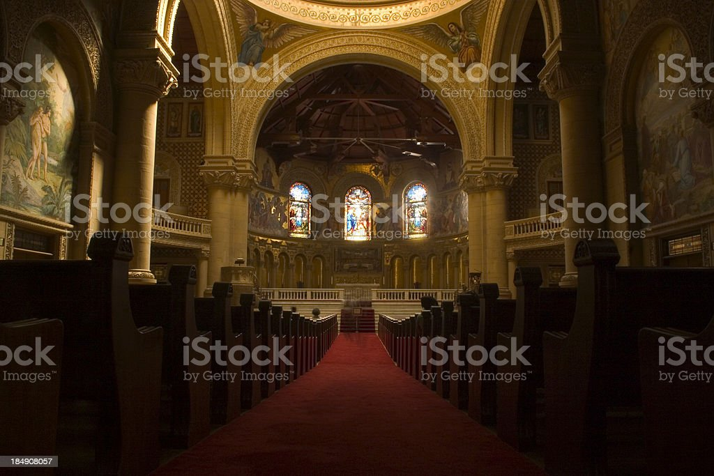 American Cathedral stock photo