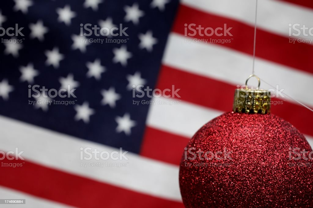American Christmas stock photo