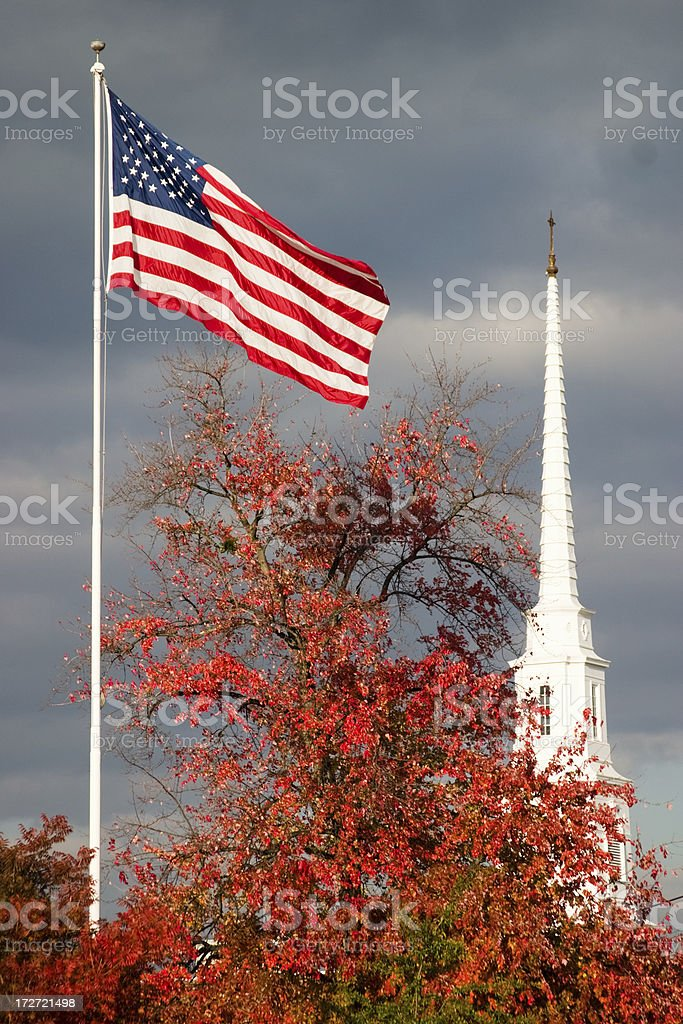 American Church royalty-free stock photo