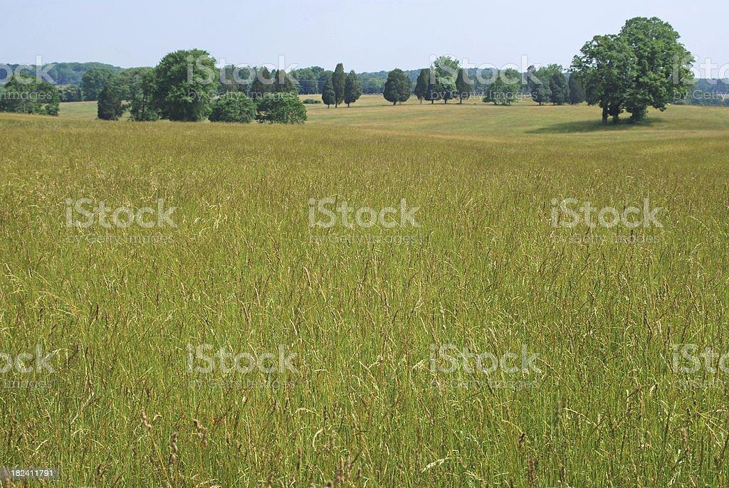 American Civil War battlefield of Manassas in Virginia stock photo