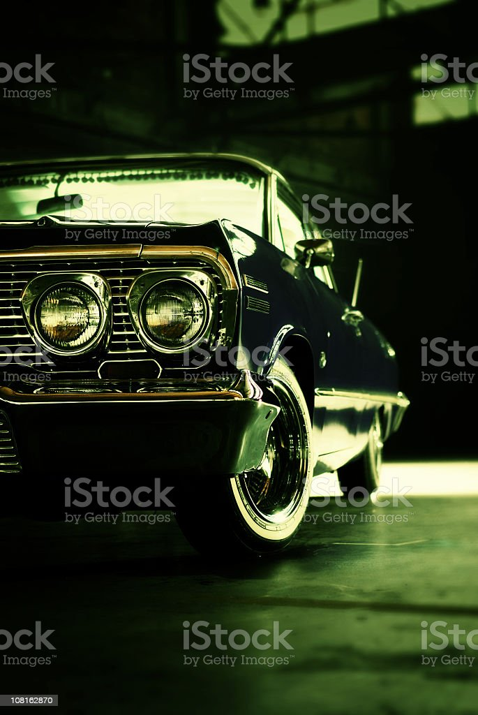 american classic car royalty-free stock photo