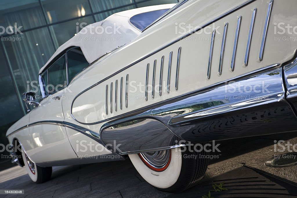 American Classic Car royalty-free stock photo