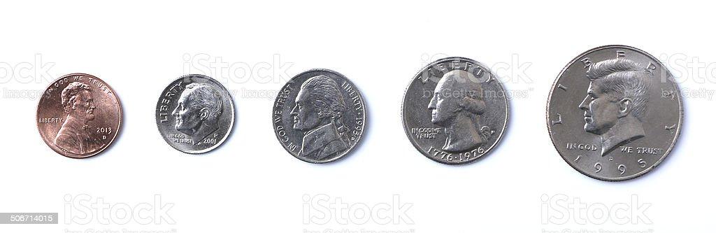 アメリカ硬貨 - 10セント硬貨の...