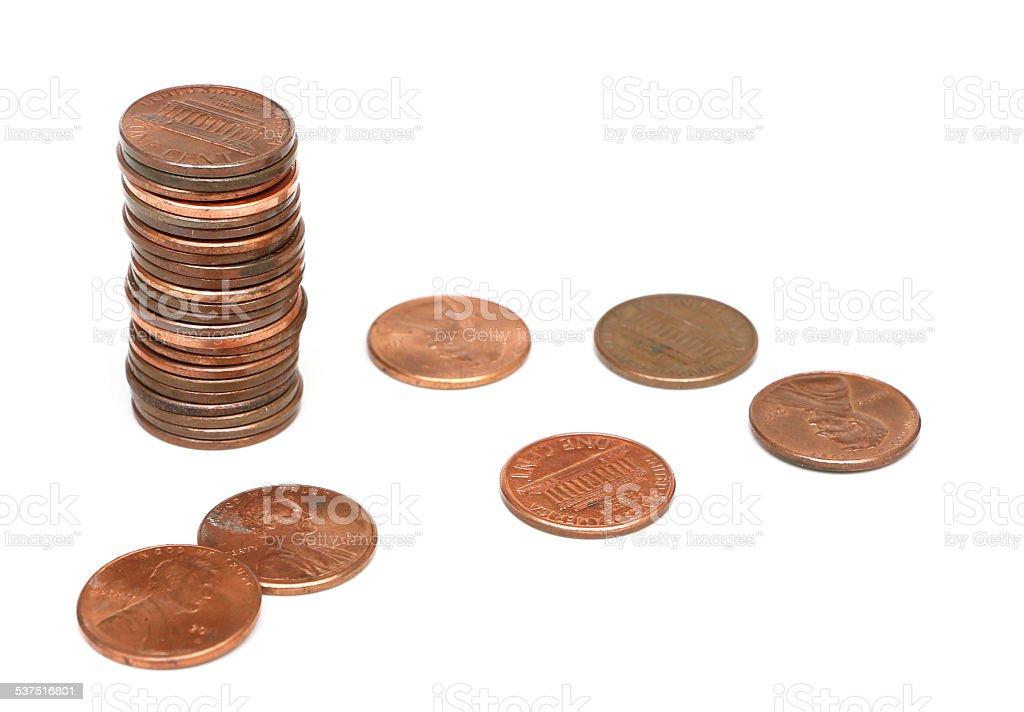 アメリカ硬貨 - ストックフォト...