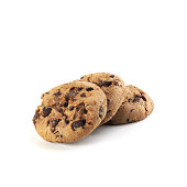 Realistic cookie illustration with a bite. Files included – jpg, ai (version 8 and CS3), svg, and eps (version 8)