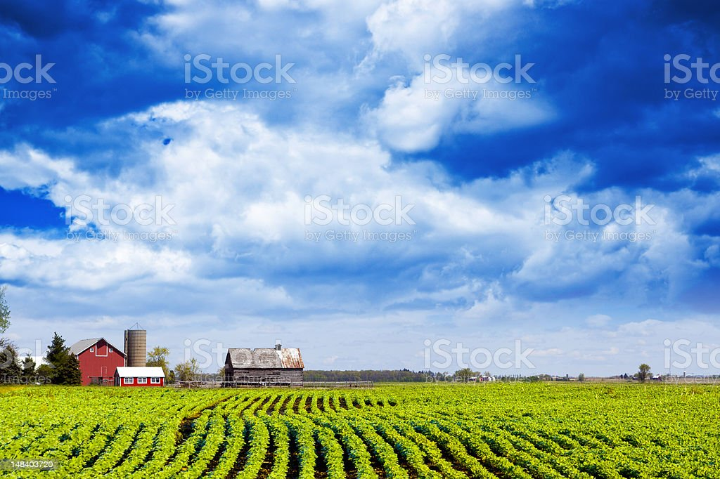 American Country stock photo