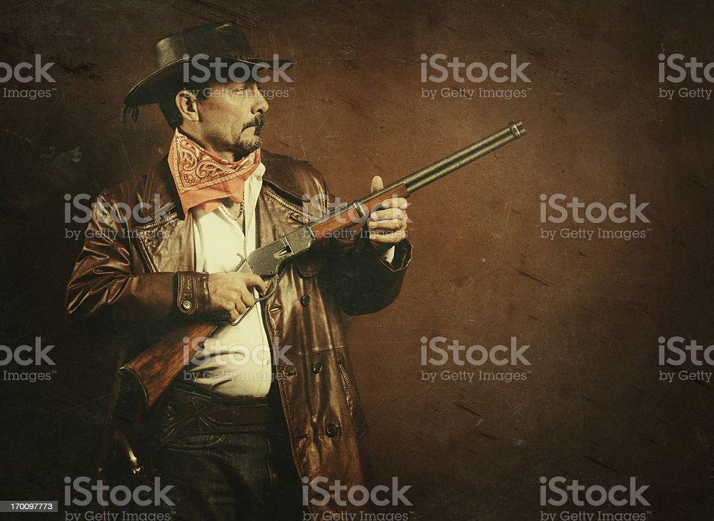 american cowboy royalty-free stock photo