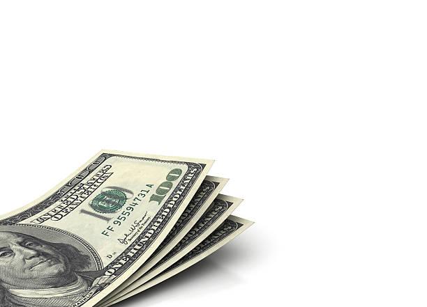 amerikanische währung auf weiß textur hintergrund - sterntaler stock-fotos und bilder
