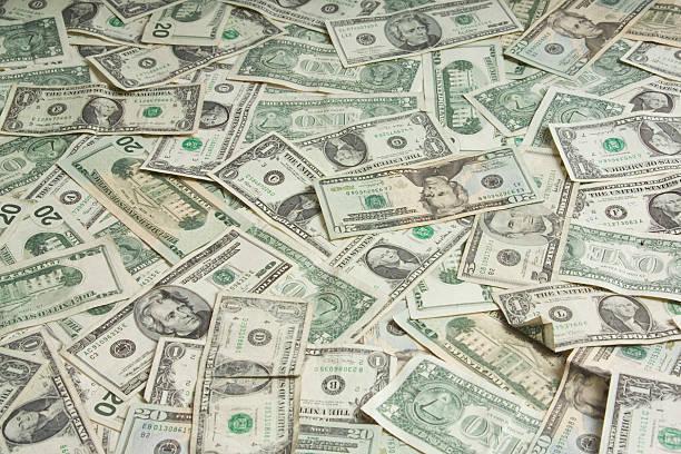 amerikanische währung - sterntaler stock-fotos und bilder