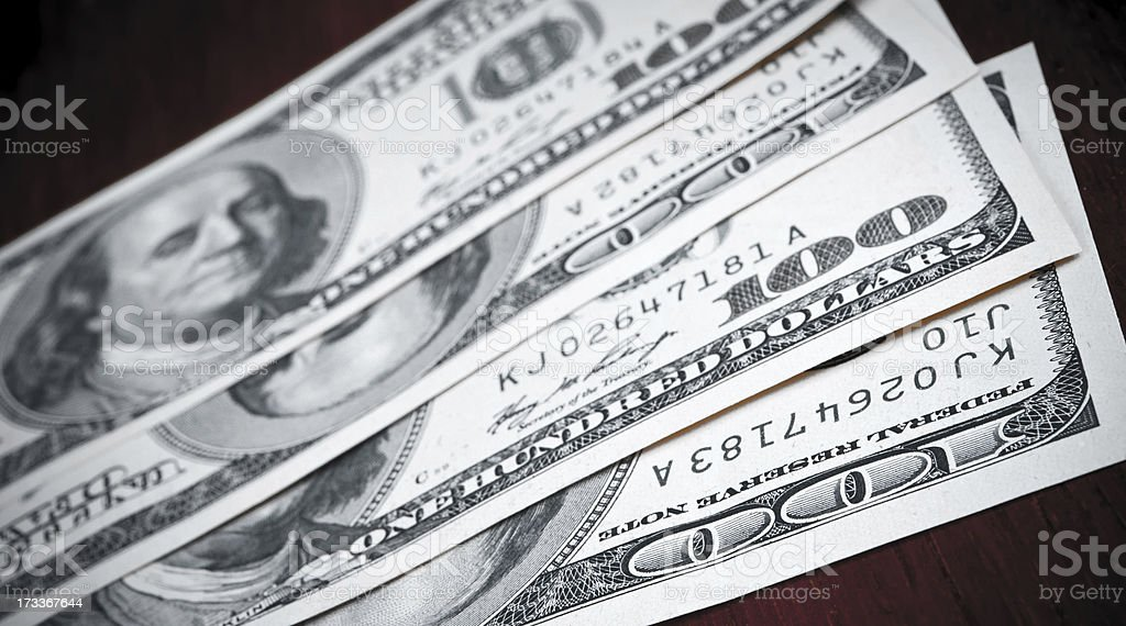 American currency royalty-free stock photo