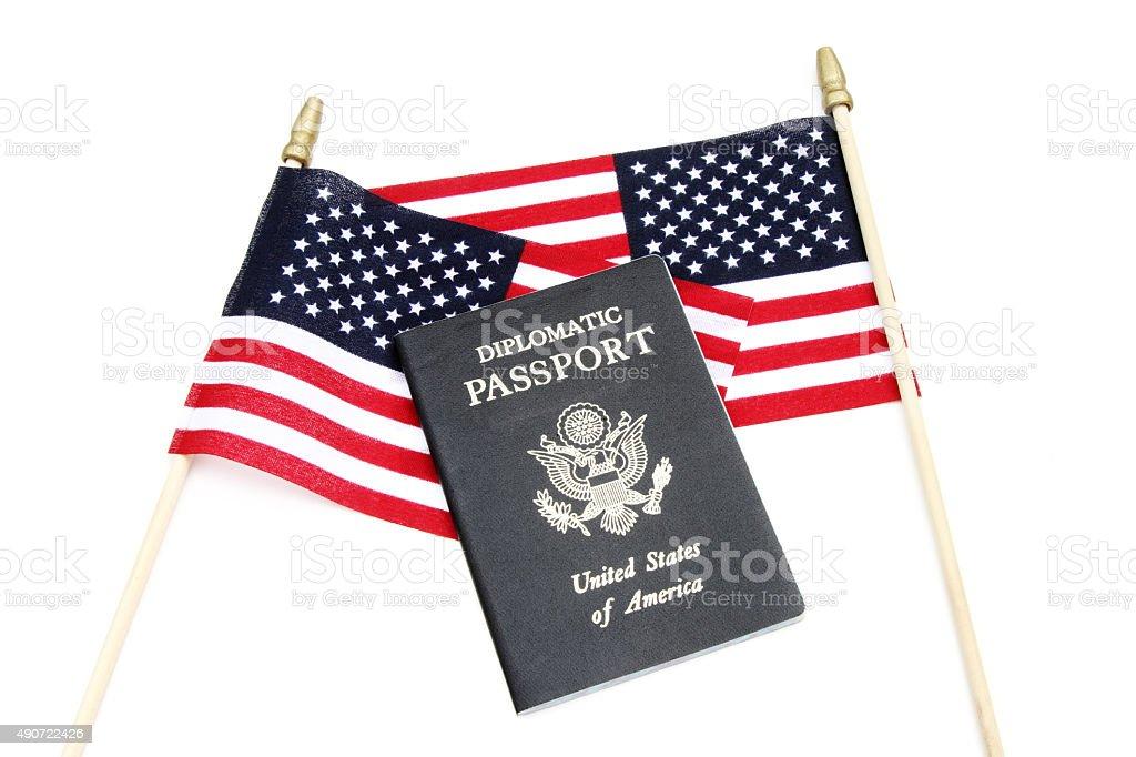 American Diplomacy stock photo