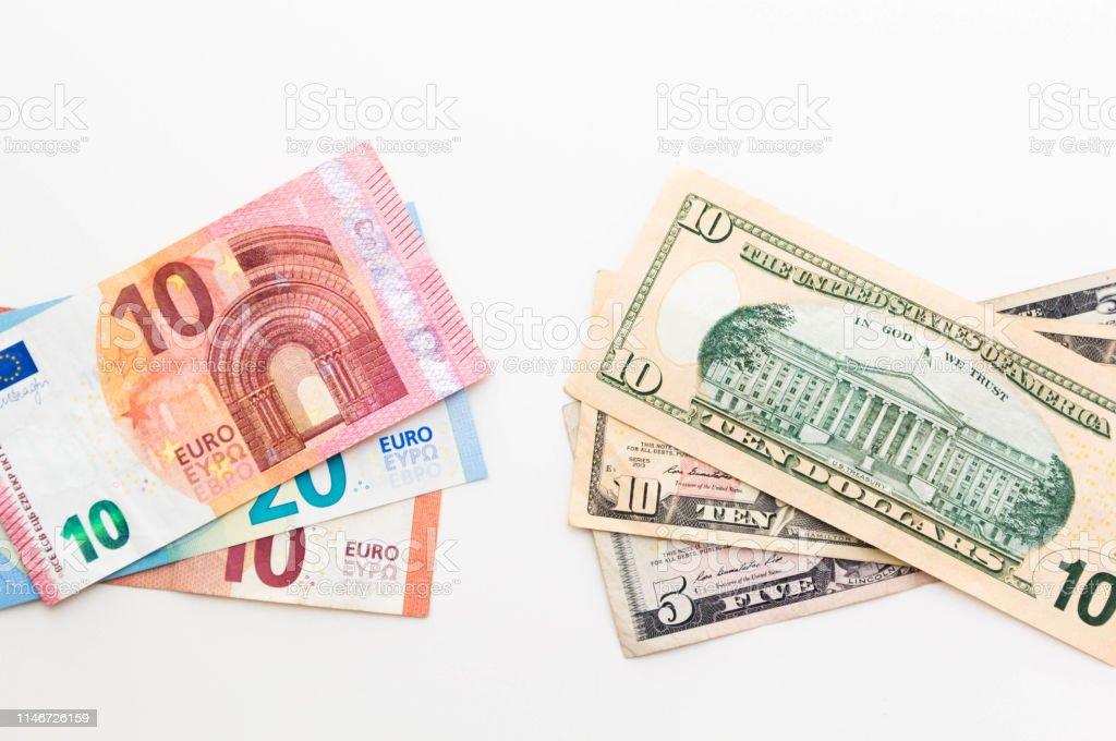 us dollar zu euro