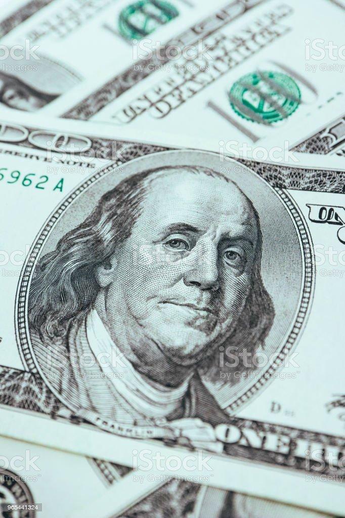 American dollar backdrop, business concept. zbiór zdjęć royalty-free