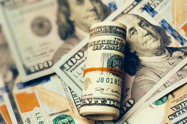 american dollars cash money - cash stock photos and pictures