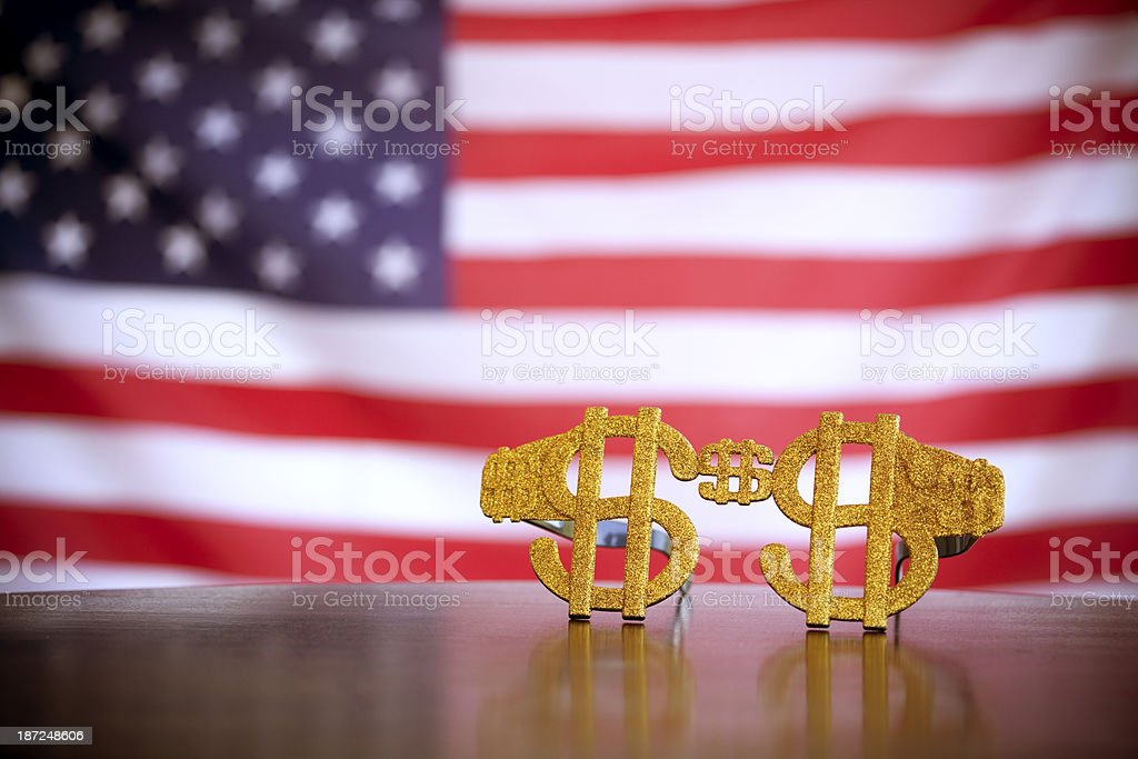 American dollars royalty-free stock photo