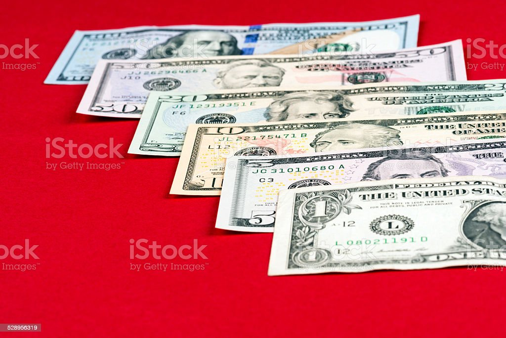 American Dollars stock photo