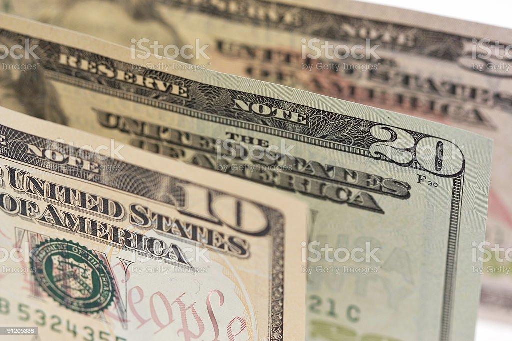 American Dollars royalty-free stock photo