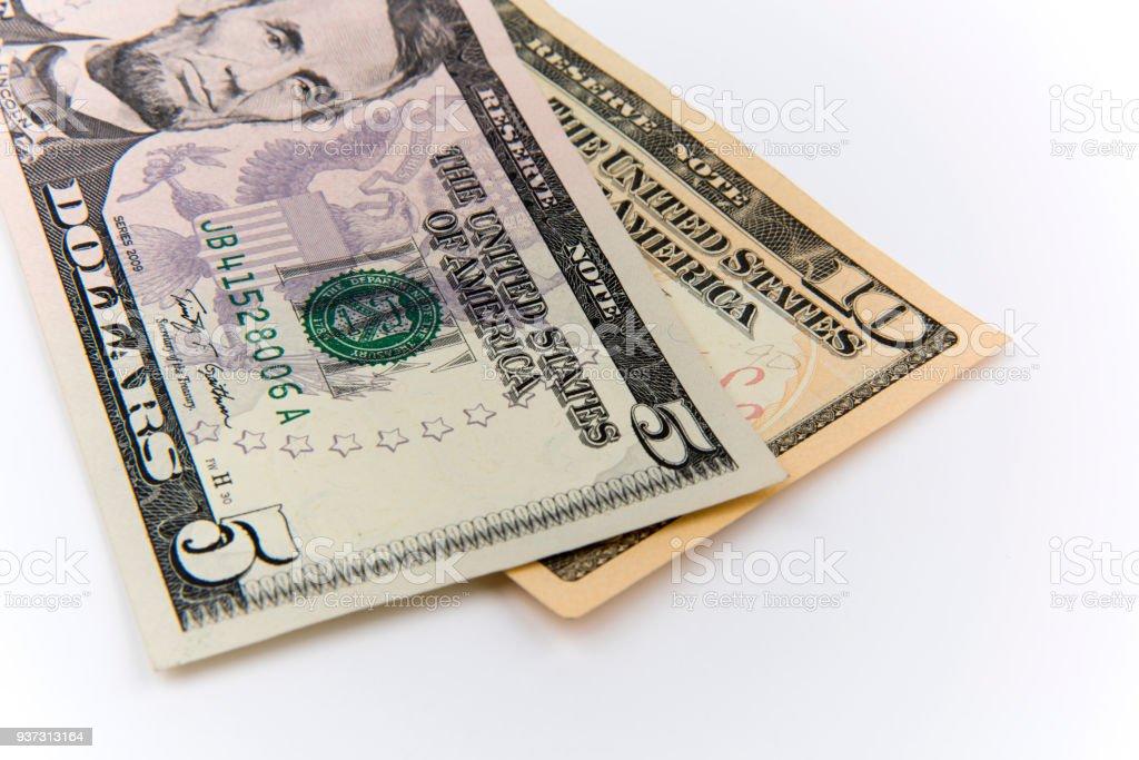 American Dollars stock photo
