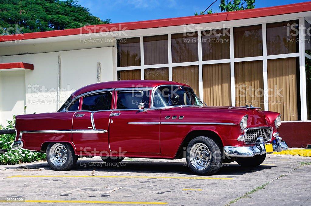 American Dream Car in Cuba royalty-free stock photo